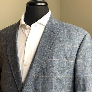 Jos A Bank 44R Sportscoat - Silk/Linen